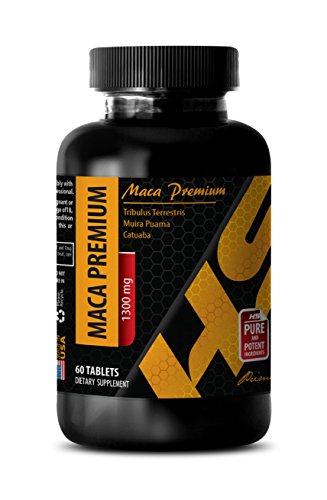 Sex drive pills for women - MACA PREMIUM - Maca supplement for men - 1 Bottle 60 Tablets