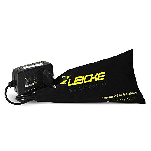 Leicke ULL-Netzteil 9V 2A 18W, 5,5 x 2,5mm Stecker, Ladegerät, Für Arduino Systeme, UNO R3 REV 3, Mega 2560 R3, Elegoo UNO R3, IEIK UNO R3 etc.