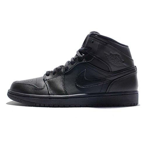 Nike Nike 554724-034 Herren Turnschuhe, Schwarz / Weiß, 46 EU