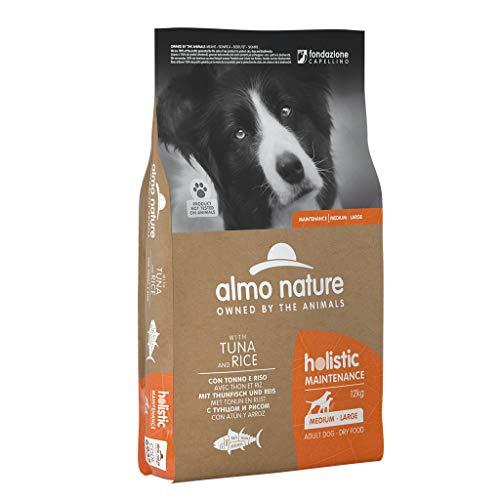almo nature Dog Holistic Manteinance Medium/Large con Tonno E Riso da 12 kg