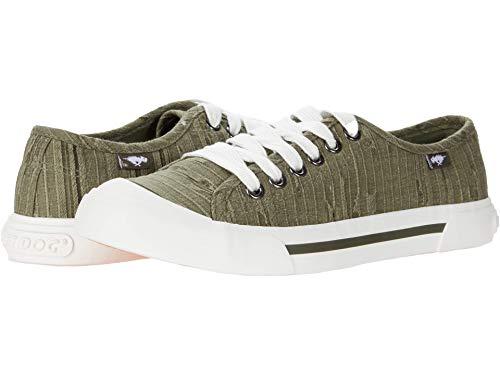 Rocket Dog Women s Jumpin Woodward Cotton Sneaker, Olive, 11