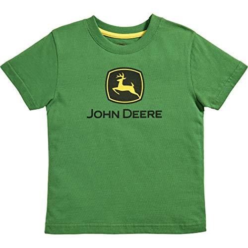 John Deere Toddler Kids Boys Trademark Short Sleeve Tee, GREEN, 3T