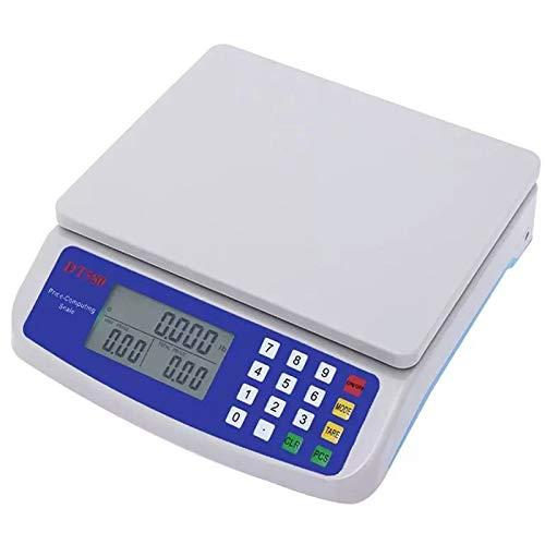 Kuinayouyi 30 Kg / 1 G KüChen Waage Digitale Lebensmittel Waage mit LCD Display mit Hintergrund Beleuchtung Messung der Elektronischen Waage