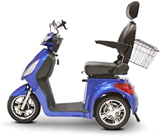 EWheels (EW-36) 3-Wheel Mobility Scooter, Royal Blue - BMC-EWH EW-36B