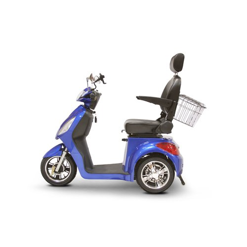 Miller Supply, Inc. EWheels (EW-36) 3-Wheel Mobility Scooter, Royal Blue - BMC-EWH EW-36B