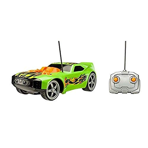 Hot Wheels Cars Mega Muscle con 2 Motores, Color Verde (Toy State 91816)