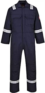 Royal Blue Portwest 2802RBRXXXL Standard Coverall Regular Size: 3X-Large