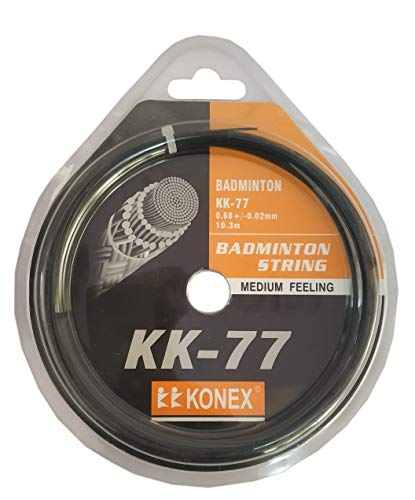 Konex Badminton String, Black