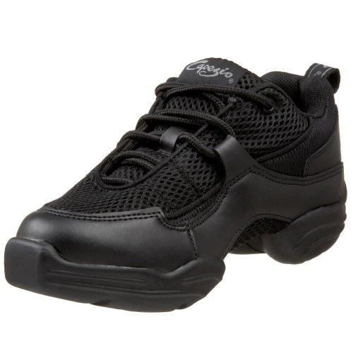 Capezio Women's DS11 Fierce Dance Sneaker,Black,9 M US