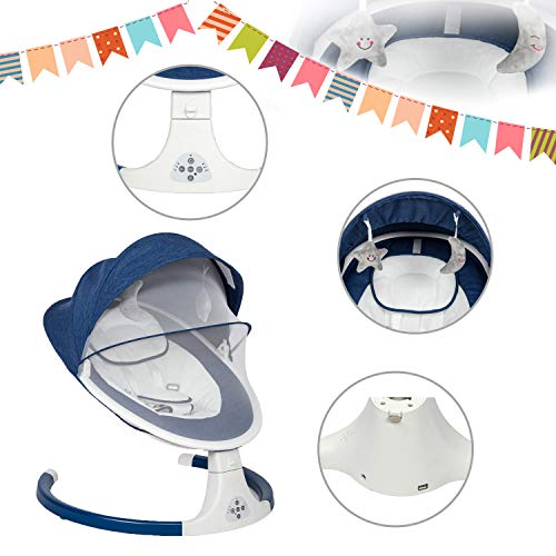 41vzCUqwMVL The Best Battery Operated Baby Swings in 2021 Reviews