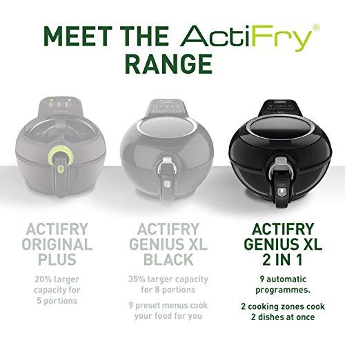 Tefal ActiFry Genius XL 2in1 YV970840 Air Fryer-1.7kg / 8 Portions, 2 in 1, Black