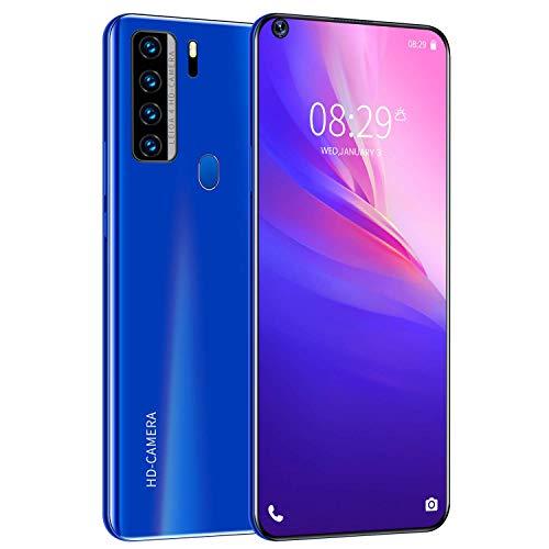 QSs-Ⓡ NOWA7 Smartphone ohne Vertrag Günstig (7.2 Zoll) HD, 5000mAh, 4GB RAM 64GB ROM, Android10.0, WLAN, Fingerabdruck, Face ID, Dual SIM Handy