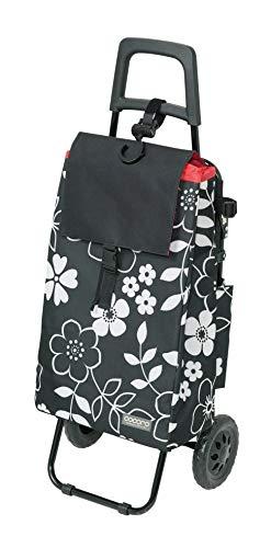 レップ(REP) ショッピングカート ブラック 容量40L 保冷 買い物 バッグ らくらく COCORO(コ・コロ) 439104