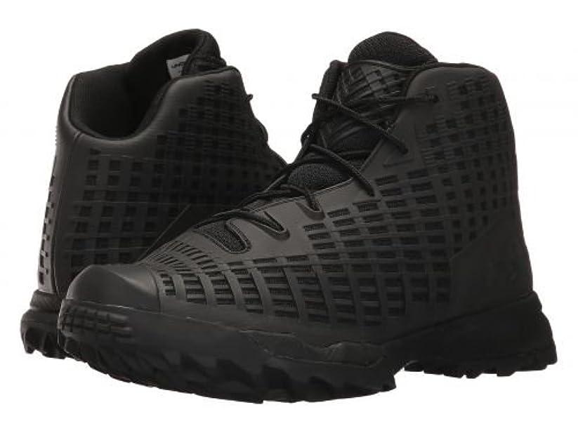関与するためらう減るメンズ 男性用 シューズ 靴 ブーツ 安全靴 ワーカーブーツ UA Acquisition - Black/Black/Black [並行輸入品]