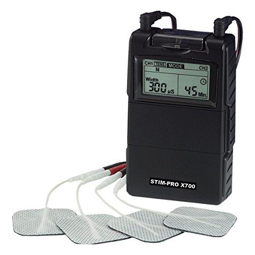 2-Kanal TENS EMS Kombi-Gerät - EMS-Trainingsgerät und TENS-Gerät STIM-PRO X700 - axion