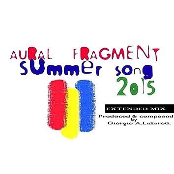 Summer Song 2015