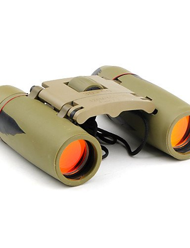 PIGE 30x60 Hochleistungs-SAKURA Ferngläser mit Gummiabdeckung (Grün)