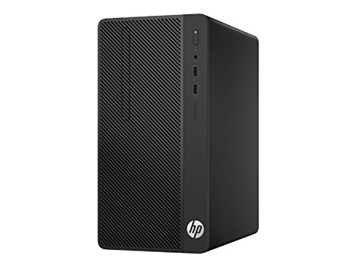 HP 280 G3 Microtower-PC Komplett-PC, schwarz, Windows 10 Pro 64-Bit 8PG33EA#ABD