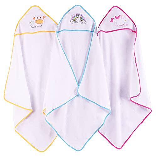 Viviland Toalla de baño con capucha para bebé, gran regalo para bebés y recién nacidos, tacto...