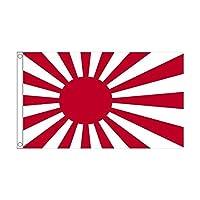 国旗 日本 旭日旗 ライジングサン 150cmx240cm 超特大フラッグ【ノーブランド品】