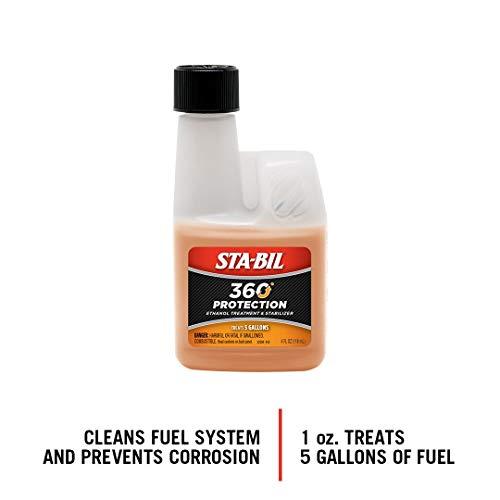 STA-BIL 22295 Small Engine Ethanol Treatment and Fuel Stabilizer, 4. Fluid_Ounces