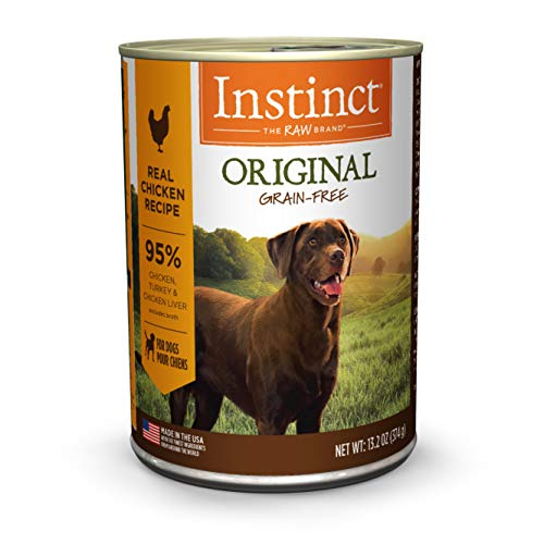 Instinct Original Grain Free Real Beef Recipe Natural Wet Canned Dog Food by Nature's Variety