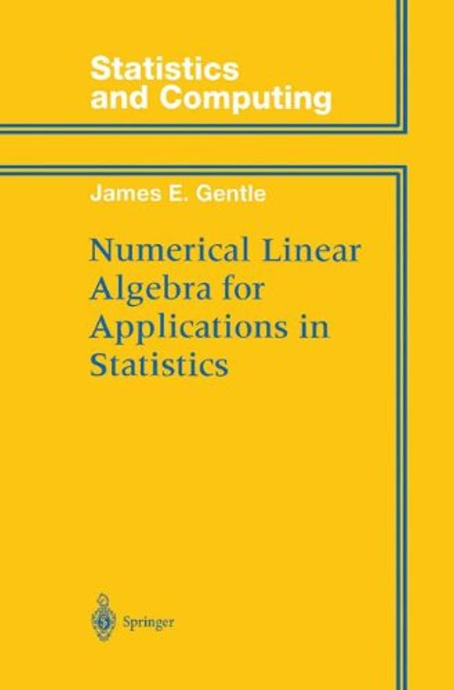 フロー政権ミュウミュウNumerical Linear Algebra for Applications in Statistics (Statistics and Computing)