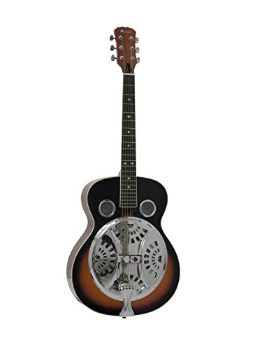 DIMAVERY RS-300 Resonanz-Gitarre,sunburst
