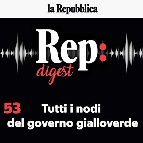 『Tutti i nodi del governo gialloverde』のカバーアート