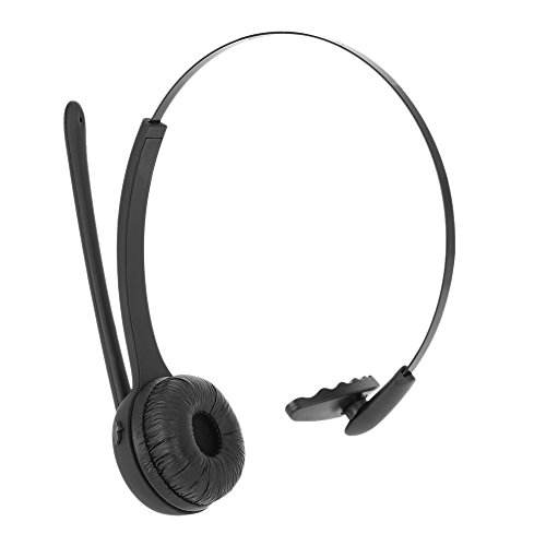 KKmoon SK-BH-M6 Fone de ouvido sem fio Bluetooth estéreo empresarial Fone de ouvido viva-voz com microfone para escritório Atendimento ao cliente Smart Phones PC Outros dispositivos com Bluetooth