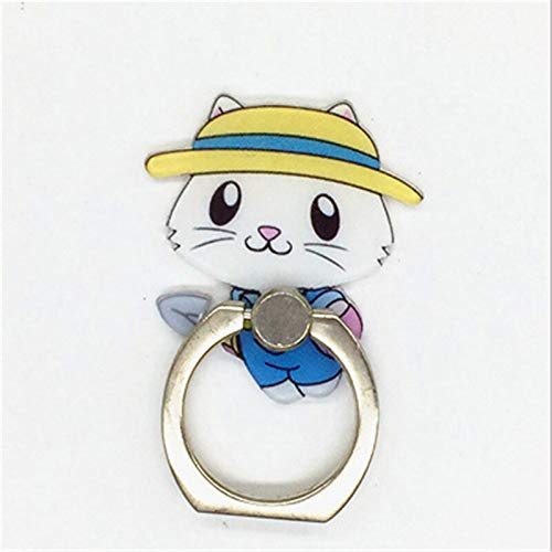 VKGJMHD Cute Girl Soporte para Teléfono Móvil Animal Animal Ring ...