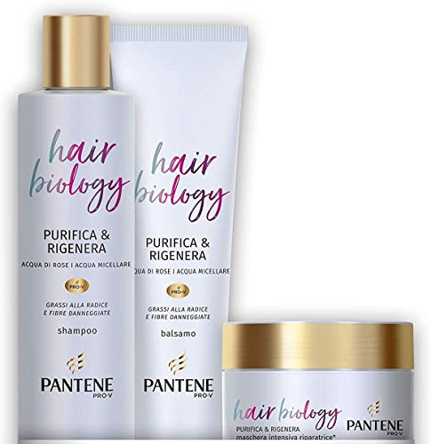 Pantene Hair Biology Purifica e Rigenera, Set