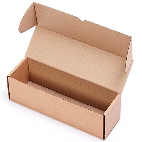 (25x) Caja para 1 Botella de cartón automontable y envíos postales TCPOBOX (D (38 x 12 x 12 cms) (LOTE DE 25 UNIDADES)