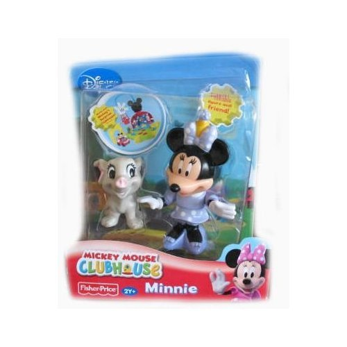 Disney - Mickey Mouse Clubhouse / Micky Maus Wunderhaus - 2-Pack - Minnie Mouse mit Baby Elefant - OVP