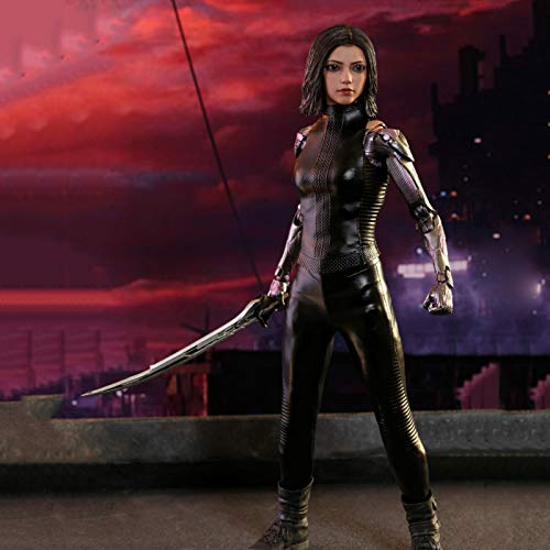 KLMB 1/6 Female Seamless Action Figures Collectible, Alita: Battle Angel Model Statue, 27Cm PVC Environmental Protection Materials Decorative Ornaments Toy Best Gift for Adults Children