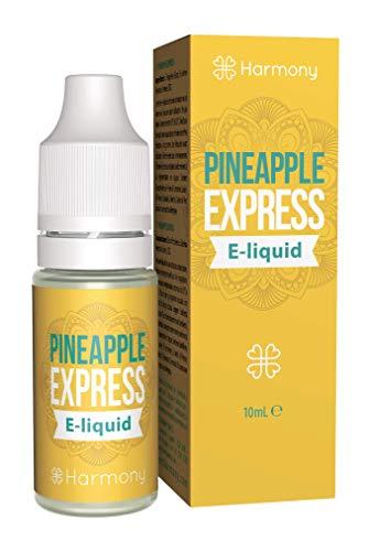 Harmony E-líquido de CBD (más de 99% pureza) - Terpenos de Pineapple Express - 600 mg CBD en 10 ml - Sin Nicotina