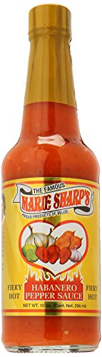 Marie Sharp's – Fiery Hot Habanero Pepper Sauce – 296ml