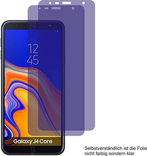 4ProTec I 2X ANTIREFLEX matt Schutzfolie für Samsung Galaxy J4 Core Bildschirmschutzfolie Displayschutzfolie Schutzhülle Bildschirmschutz Bildschirmfolie Folie