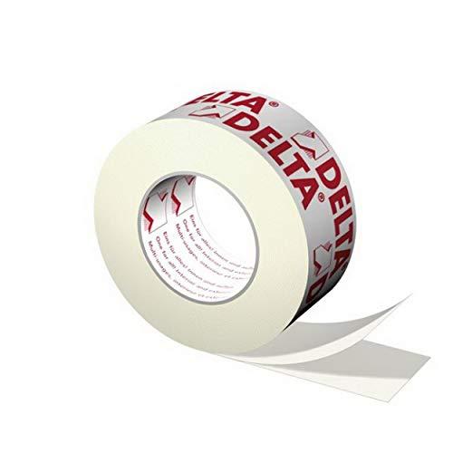 Dörken Delta Multi-Band 60 mm x 25 m universales Klebeband für innen und außen in weiß/rot