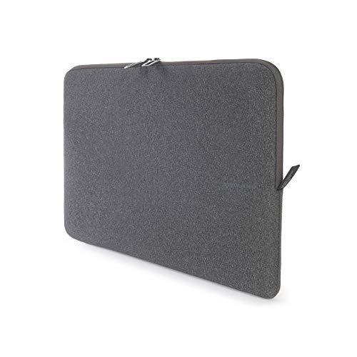 Tucano BFM1718-BK Second Skin Melange Neopren Notebook Sleeve, 43,18-45,72 cm (17-18 Zoll) schwarz