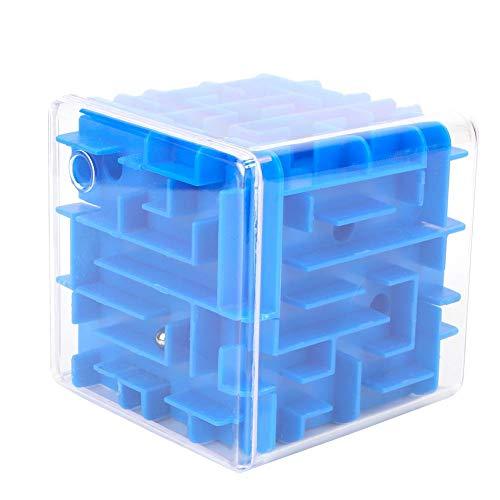 Giocattolo Classico Labirinto Cubico, 3D Gioco Puzzle Labirinto Tridimensionale Pensiero Logico Gioco Educazione Precoce Giocattolo Cognitivo Regalo p