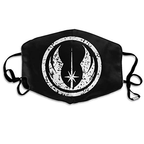 Xipiter, copertura per naso riutilizzabile con stemma Jedi Ordine emblema logo copriorecchie regolabili