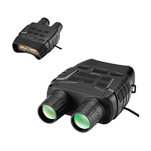 QQO Prismáticos Binoculares, Dispositivos De Visión Nocturna De 300 Yardas Digitales del...