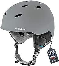 WILDHORN Drift Snowboard & Ski Helmet - Unisex Performance Snow Sports Helmet w/ Adjustable Ventilation