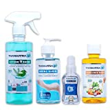 Ultimate Hygiene Kit for all your Hygiene needs Versatile range of products for multi-purpose disinfection and sanitization Bring Home Health & Happiness with Ultimate Hygiene Kit Kills 99.9% Germs, Bacteria & Fungi for all round protection Exclusive...