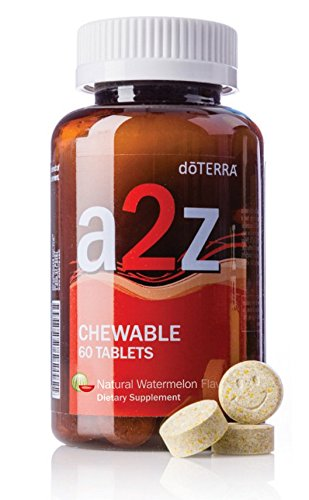 doTERRA - a2z Chewable - Natural Watermelon Flavor - 60 Tablets