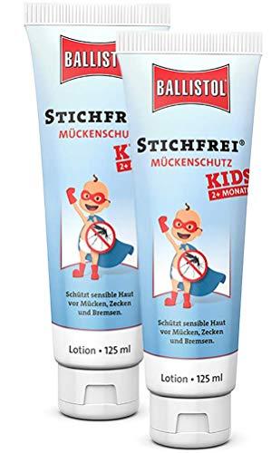 2 x Mückenschutz Ballistol Stichfrei Kids, 26816