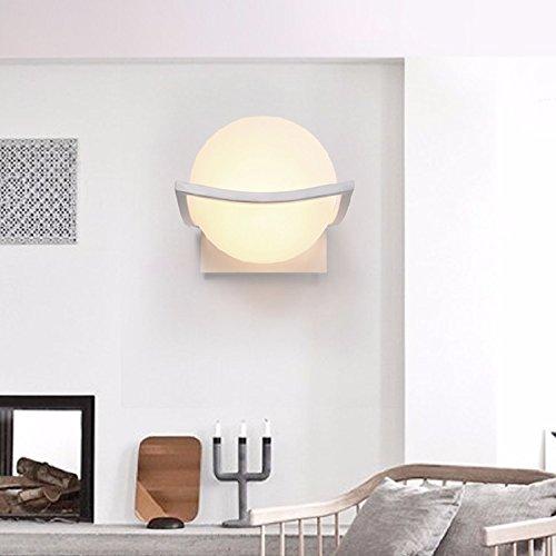JJZHG Wandlamp, waterdicht, wandverlichting, LED-wandlamp, slaapkamer, nachtwandlamp, balkon, gang, trap, wandlamp, behang: wandlamp, store wandlampen