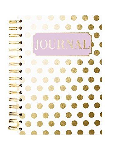 Hard Bound Journal: Gold Dot - Hardcover-Notizbuch mit stabiler Ringbindung: Goldene Punkte: Unser langlebiges Notizbuch für den täglichen Schreibbedarf