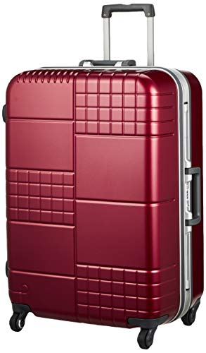 [プロテカ] スーツケース ブロックパック サイレントキャスター ハンガー付 90L 66 cm 5.3kg 33 cm 5200kg コロナレッド